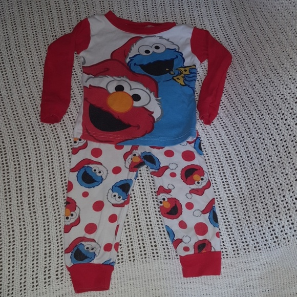 56c4d485e Sesame Street Pajamas